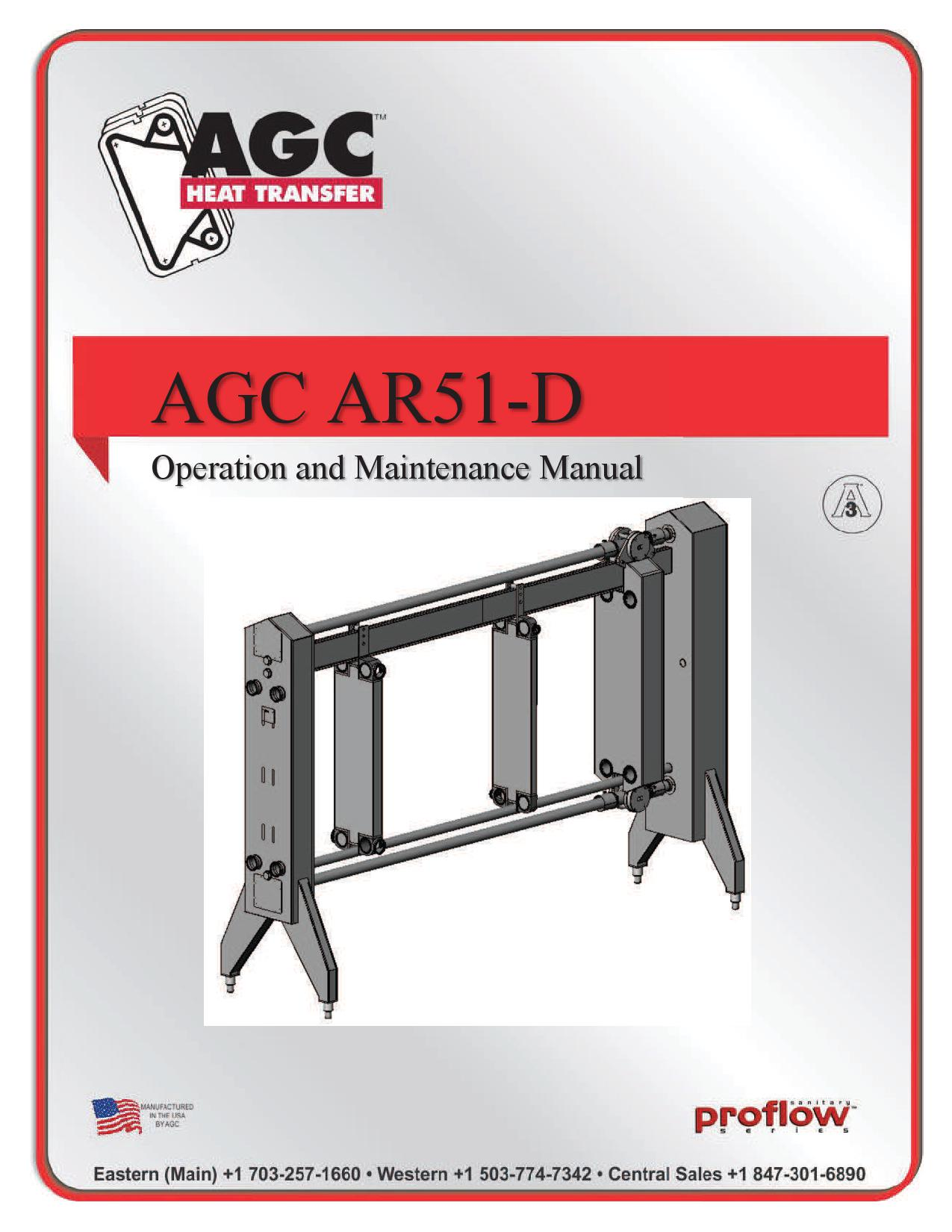 AGC Operating Manual AR51-D