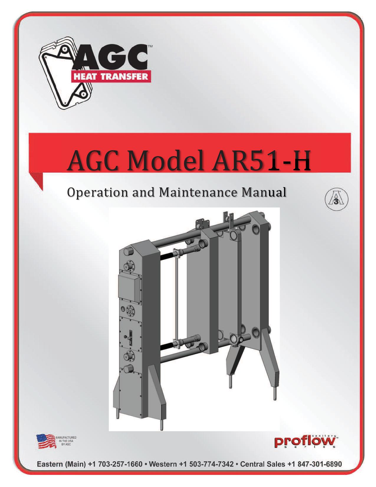 AGC Operating Manual AR51-H