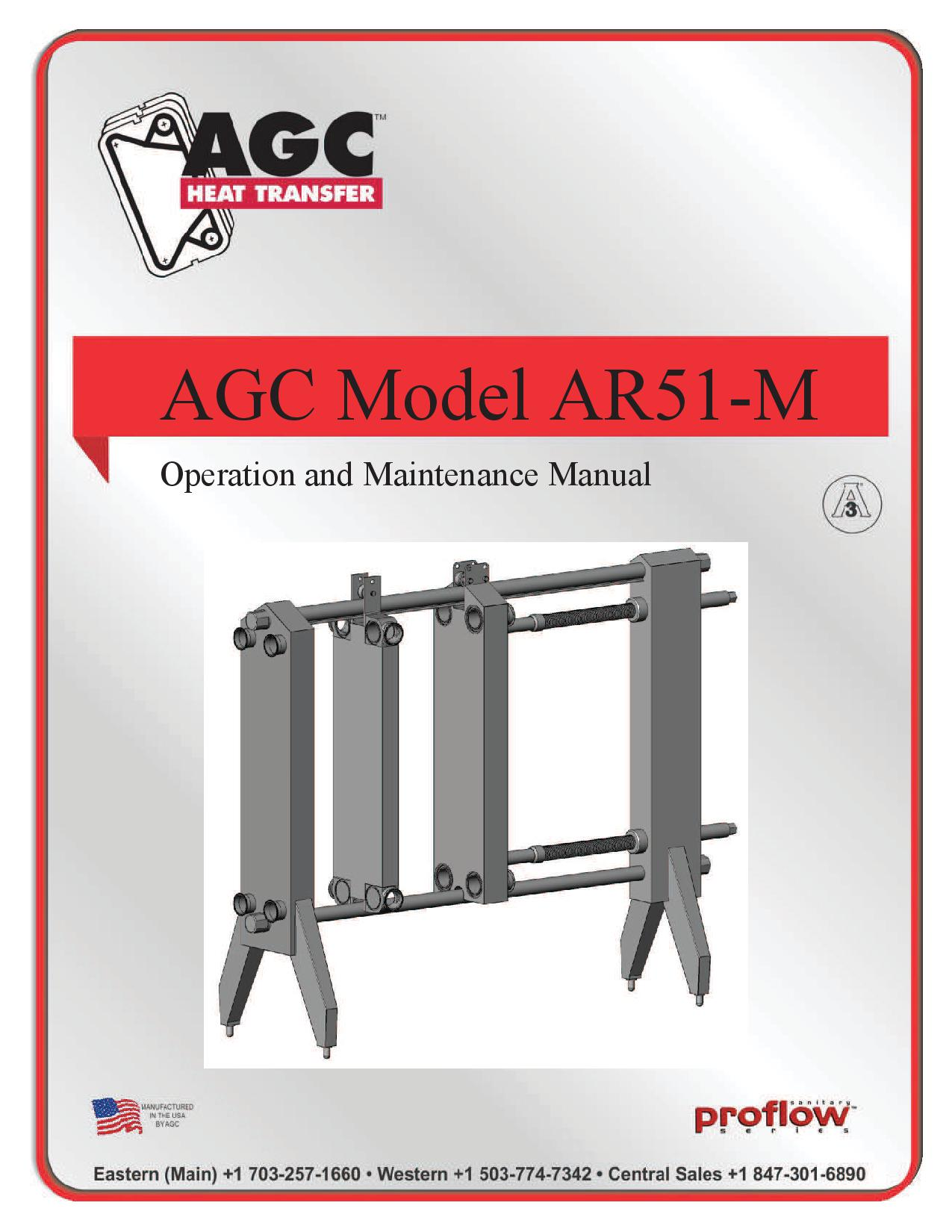 AGC Operating Manual AR51-M