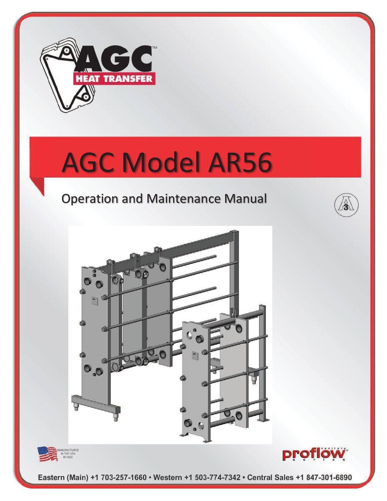 AGC Operating Manual AR56