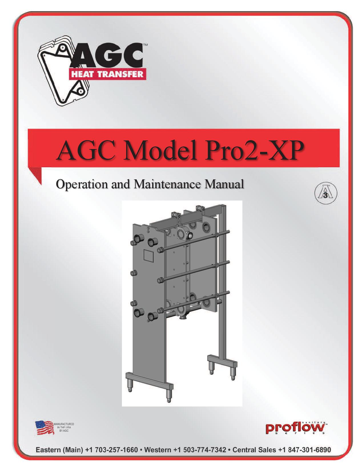 AGC Operating Manual Pro2-XP