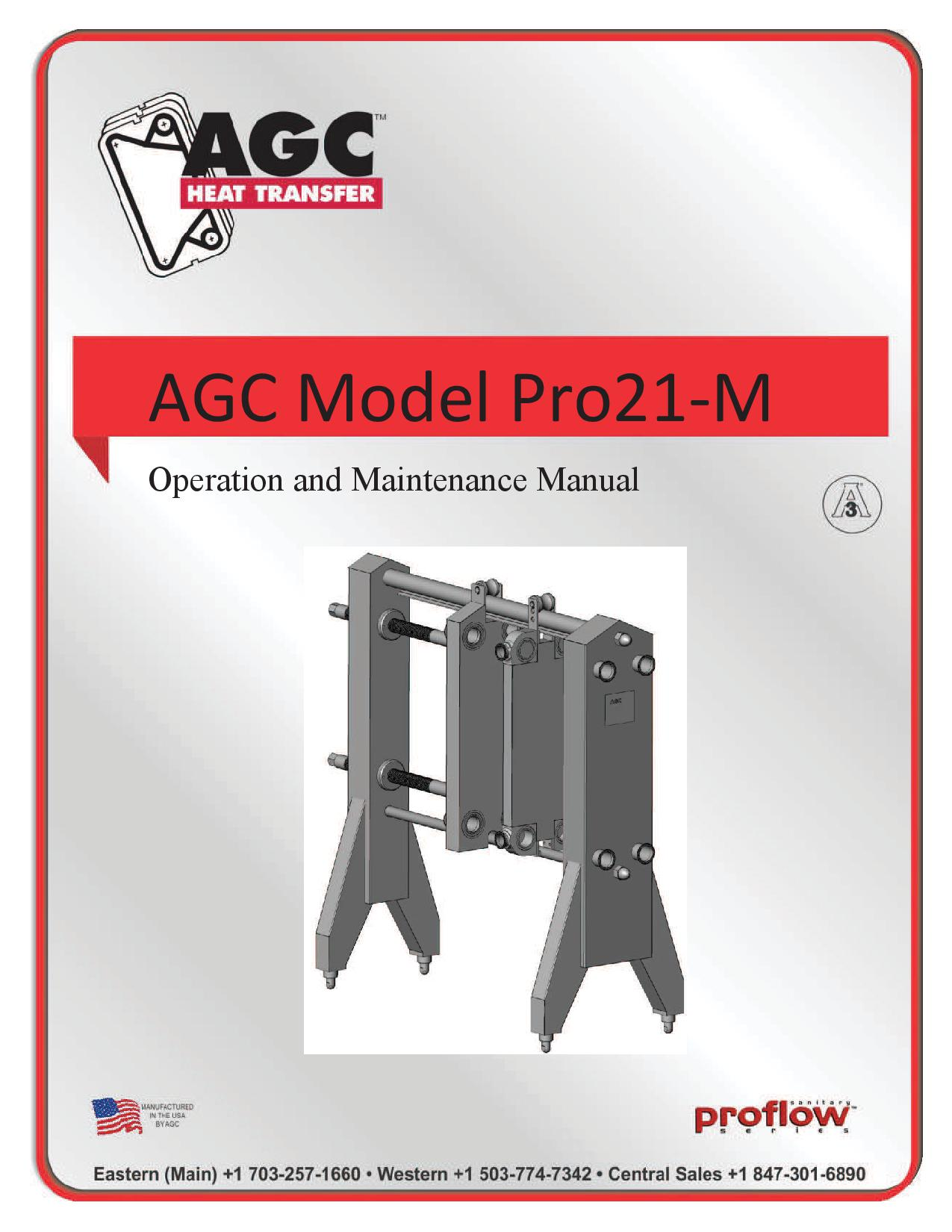 AGC Operating Manual Pro21-M
