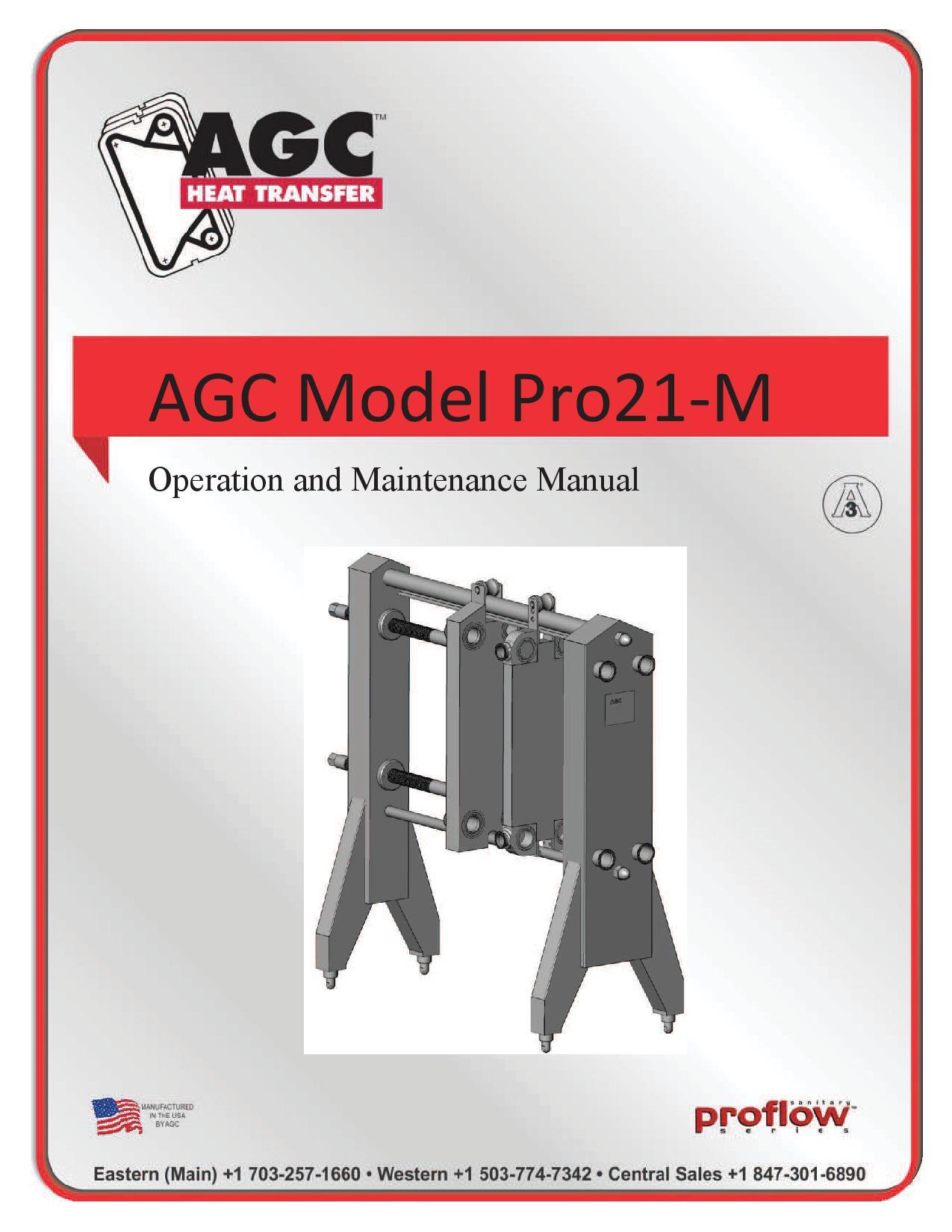 AGC Operating Manual Pro21-M