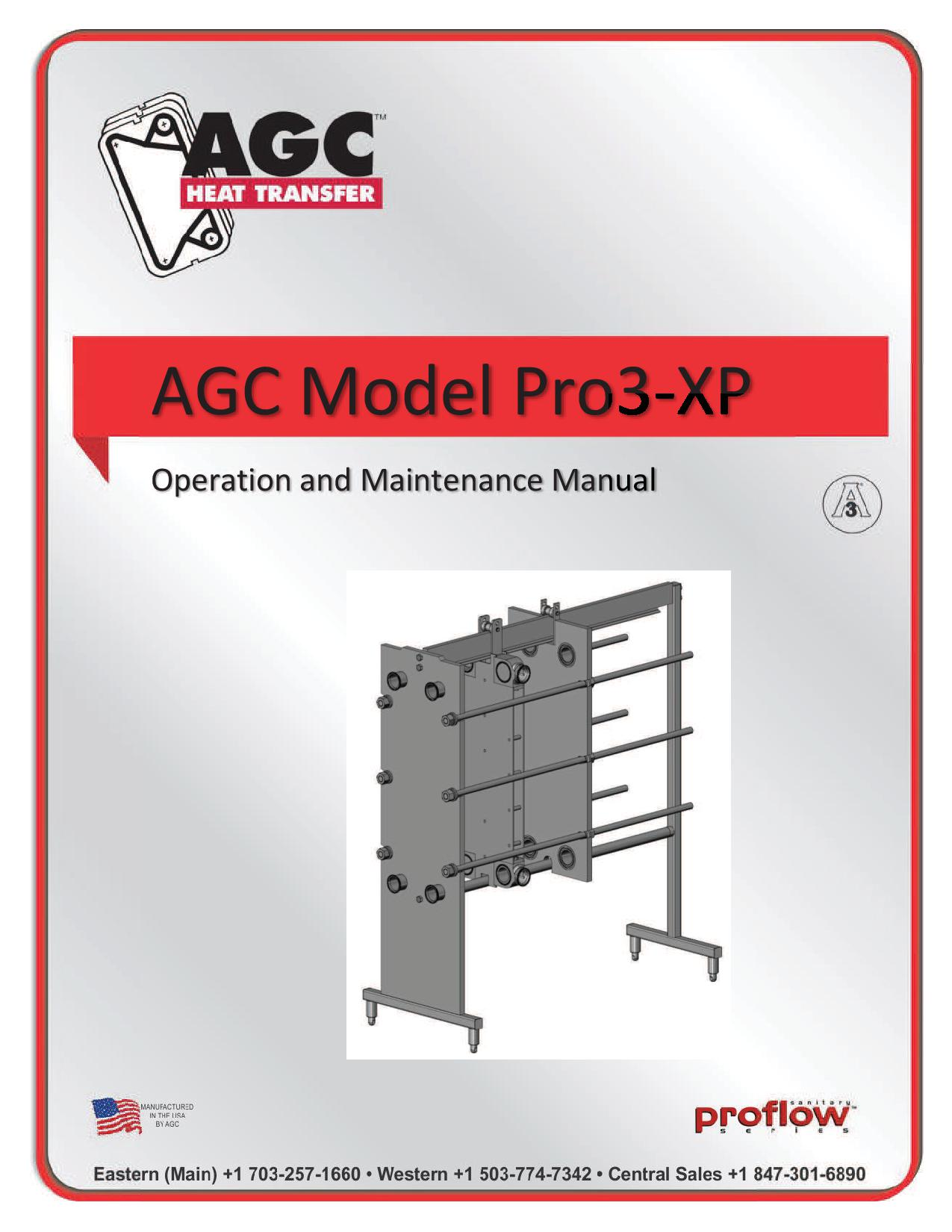 AGC Operating Manual Pro3-XP