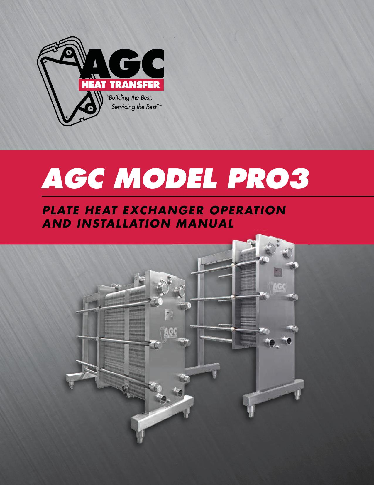 AGC Operating Manual Pro3