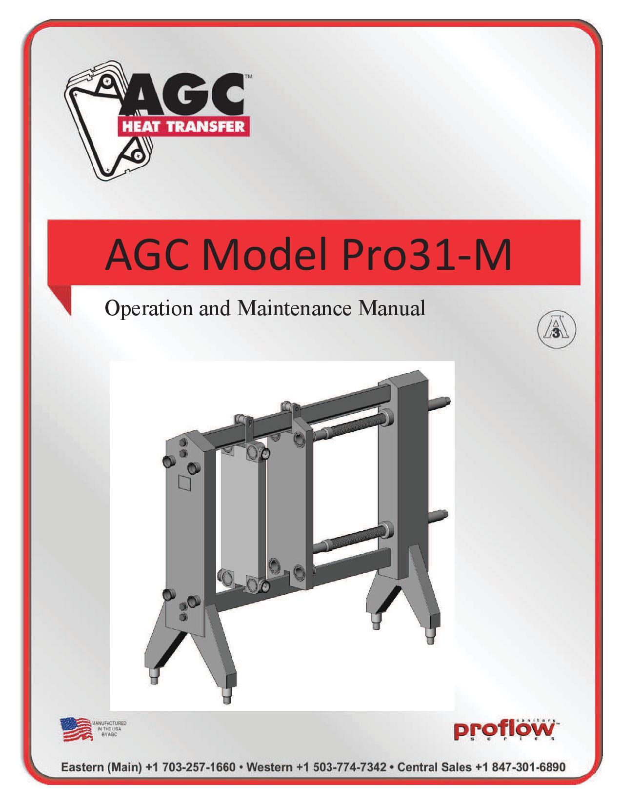 AGC Operating Manual Pro31-M