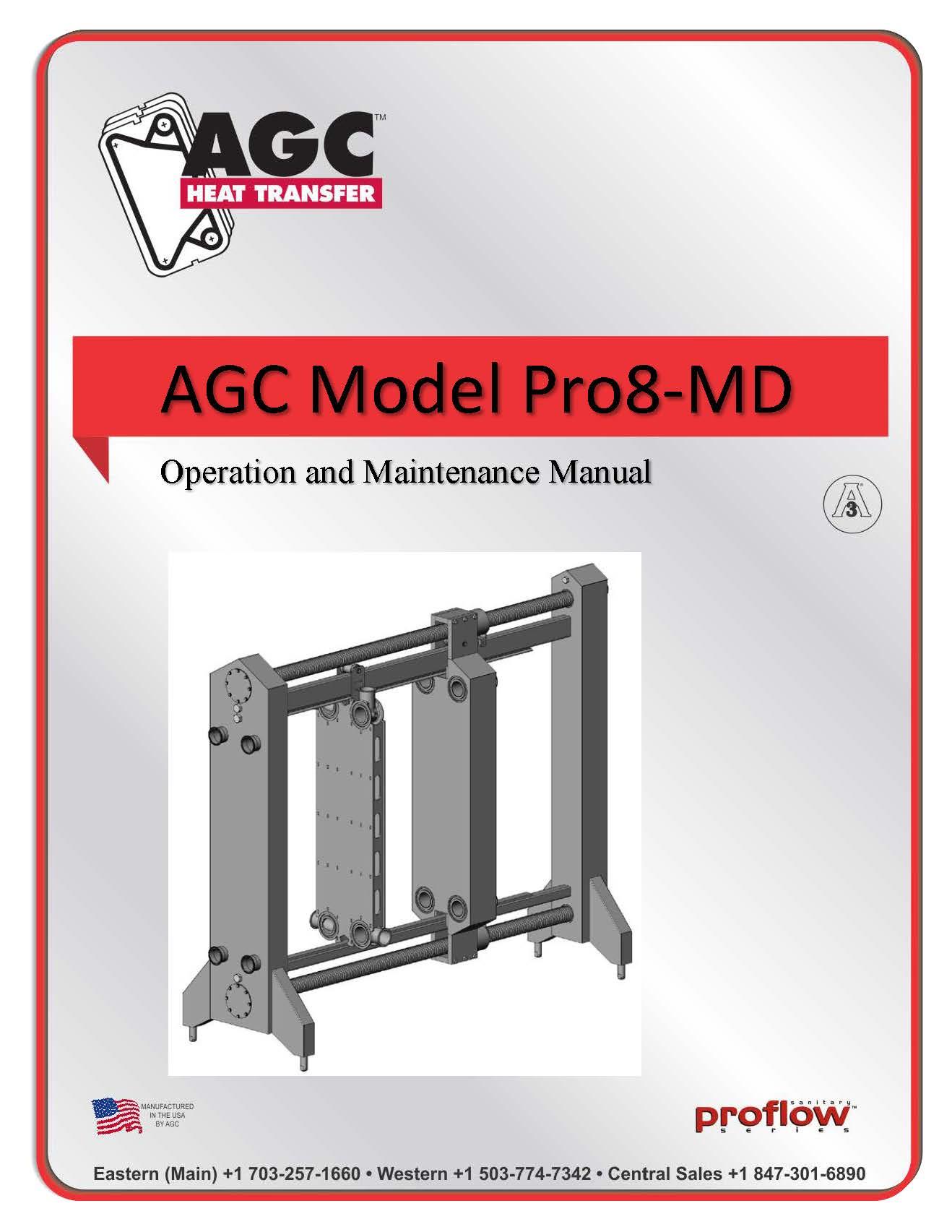 AGC Operating Manual Pro8-MD