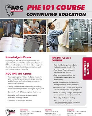 AGC PHE101 ON-SITE TRAINING COURSE